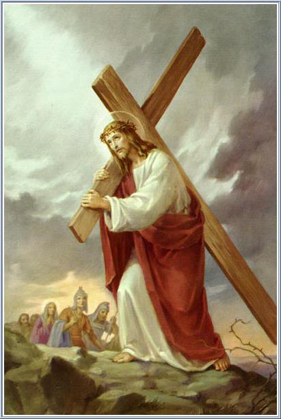 Христос несе хрест